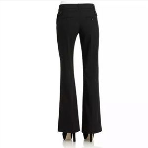 BCBG Maxazria Carly Black Dress Pants Wide Leg